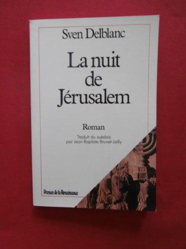 9782856163382: La Nuit de J�rusalem