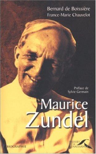 9782856169773: Maurice Zundel
