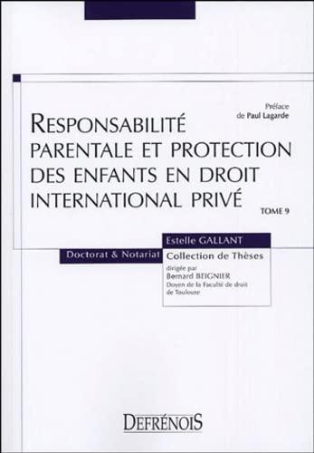 Responsabilité parentale et protection des enfants en droit international privÃ...