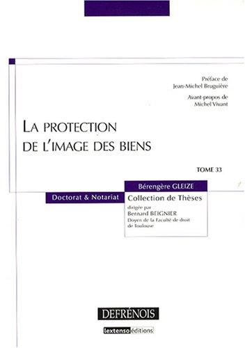 9782856231500: La protection de l'image des biens (French Edition)