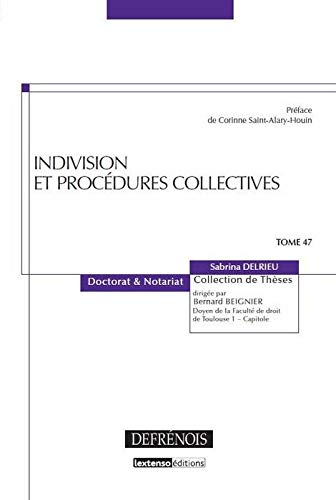 9782856231937: Indivision et proc�dures collectives