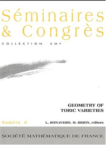 9782856291221: Geometry of toric varieties (French Edition)