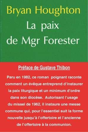 9782856520697: La Paix de Mgr Forester