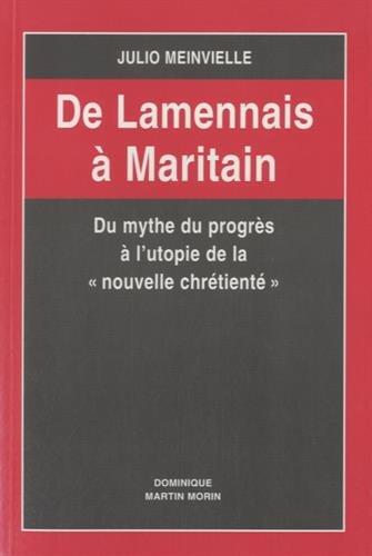 9782856522615: De Lamennais à Maritain