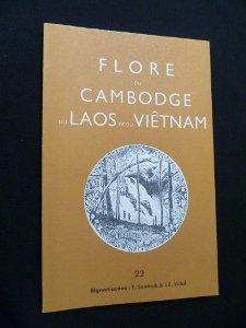 Flore du Cambodge, du Laos et du Vietnam. ------- Volume 19 , Légumineuses Mimosoïd&...