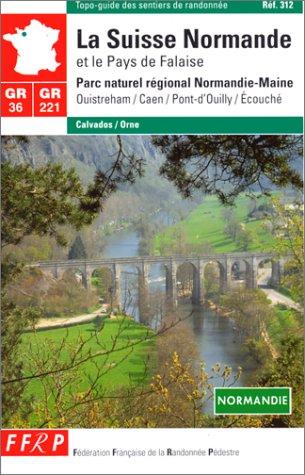 9782856996430: Grande randonnée pédestre : la Suisse normande