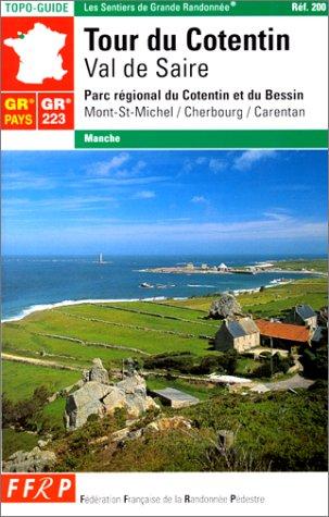 9782856997178: Tour du Cotentin, val de Saire : Parc régional du Cotentin et du Bessin (GR 223)