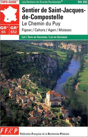 9782856999233: Sentier de St-Jacques-de-Compostelle : Le Chemin du Puy : Figeac - Moissac