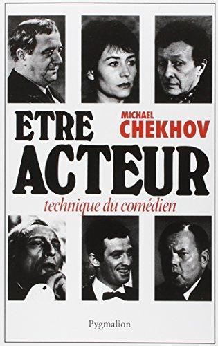 Etre acteur (9782857040859) by Michael Chekhov