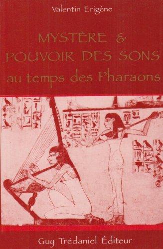 9782857072324: Mystere pouvoir sons pharaons (Esotérisme)