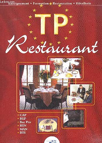 9782857083795: TP Restaurant (Enseignement, formation, hôtellerie)