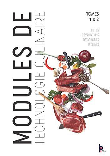 9782857087007: Modules de technologie culinaire : Tomes 1 & 2