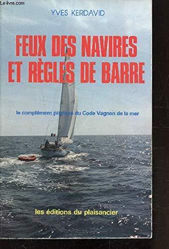 9782857250180: Feux des navires et règles de barre