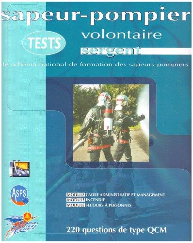 9782857253570: Sapeur-pompier volontaire, tests : Sergent