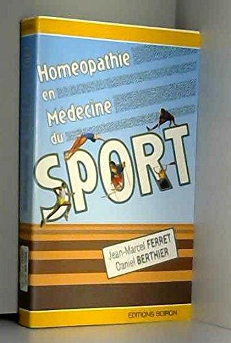 9782857420224: HOMEOPATHIE EN MEDECINE DU SPORT. 2ème édition 1998