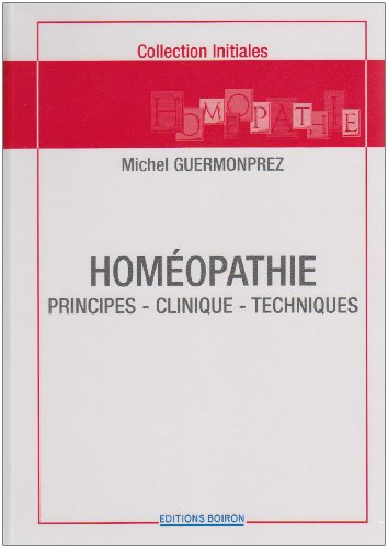 9782857422150: Homéopathie (French Edition)