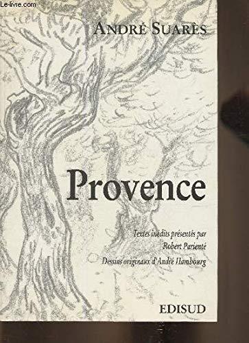 Provence: André Suarès (inédit)