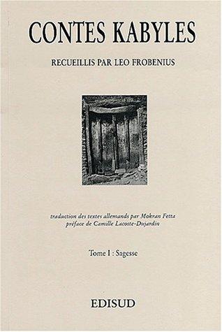 9782857448259: Contes kabyles. Tome 1, La sagesse