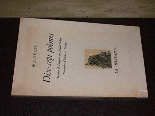 9782857450146: Dix-sept poèmes