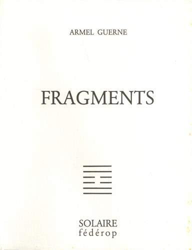 9782857920397: Fragments (Vérité intérieure) (French Edition)