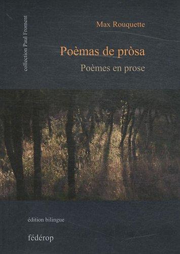 9782857921806: Po�mes en prose : Edition bilingue fran�ais-occitan