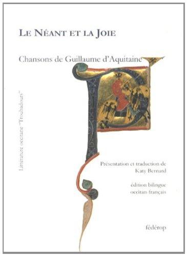 9782857922155: Le néant et la joie : Edition bilingue français-occitan (Littérature occitane