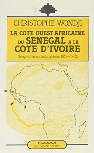 La côte ouest africaine du sénégal à: Wondji Christophe