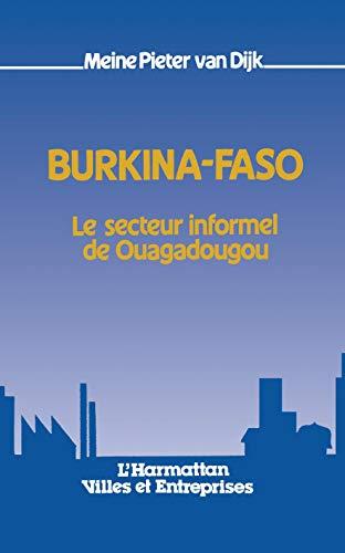 9782858026388: Burkina-Faso: Le secteur informel de Ouagadougou