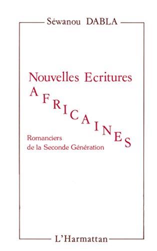 9782858026487: Nouvelles �critures Africaines : Romanciers de la seconde g�n�ration