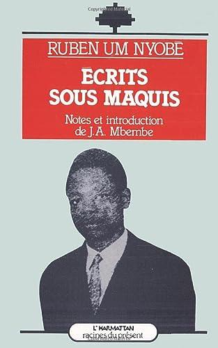 9782858029228: Ecrits sous maquis (Racines du present) (French Edition)