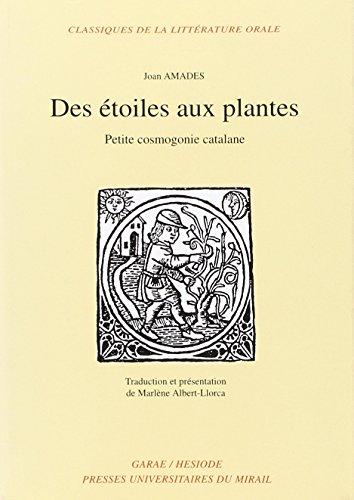 des etoiles aux plantes: Joan Amades
