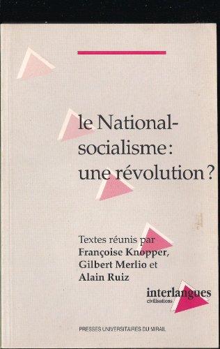 National socialisme une revolution: Knopper Francoise