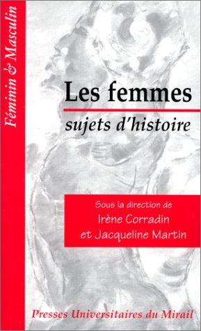 9782858164684: Les femmes, sujets d'histoire