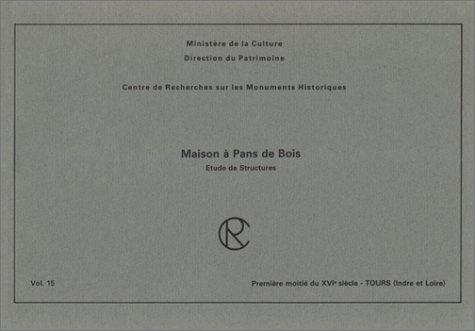 9782858224845: Maisons a Pans de Bois - Tours