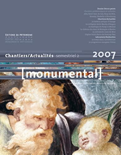 Monumental, N° 2, Décembre 2007 (French Edition): François Goven