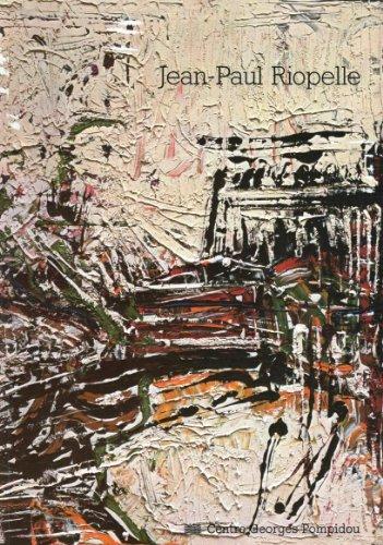 9782858501014: Jean-paul riopelle / peinture, 1946-1977 / musee national d'art moderne, centre georges pompidou, pa