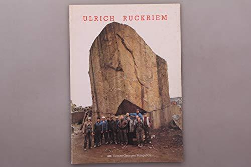 9782858501885: Ulrich Rückriem. Sculptures