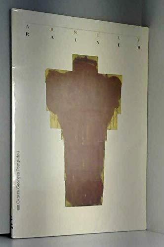 9782858502165: A. Rainer : Mort et sacrifice, Musée national d'art moderne, Centre Georges Pompidou, Paris, Galeries contemporaines, 1er février-26 mars 1984 (Catalogues expo mnam)