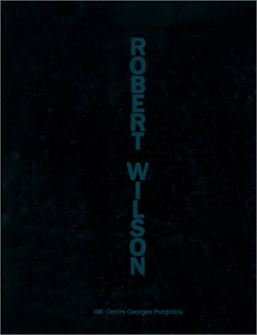 9782858506354: Bob wilson (Centre Creation)