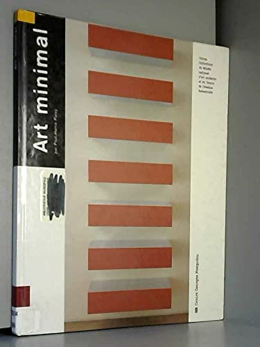 9782858506620: Art minimal (Jalons) (French Edition)