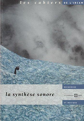 9782858507238: La synthèse sonore