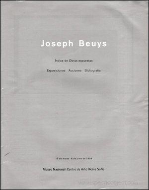 Joseph Beuys (Collection Classiques du XXe siecle) (French Edition): Joseph Beuys