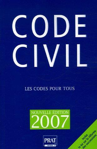 9782858909391: Code Civil