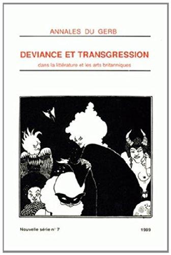 Annales du GERB N° 7/1989 : Déviance: Collectif