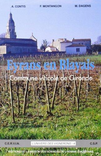 9782858921768: Eyrans en blayais, commune viticole de gironde (French Edition)
