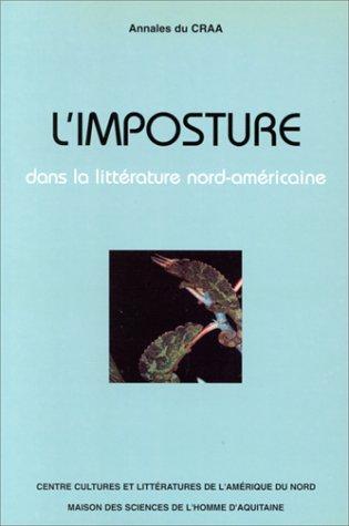 9782858922598: L'imposture dans la littérature nord-américaine
