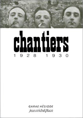 9782858930876: Chantiers N° 1 à 9, 1928-1930