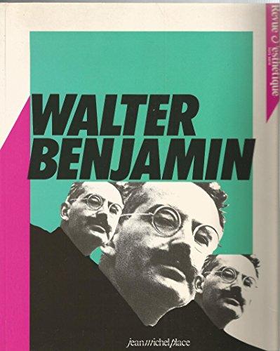 REVUE ESTHETIQUE NUMERO 1 Benjamin, Walter: Walter Benjamin