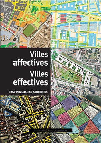 9782858937752: Ville affectives Villes effectives