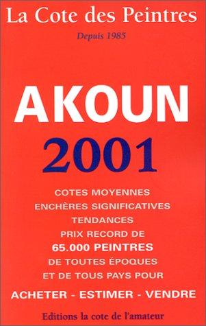 9782859173197: La cote des peintres 2001